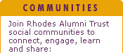 Rhodes University - Social Communities